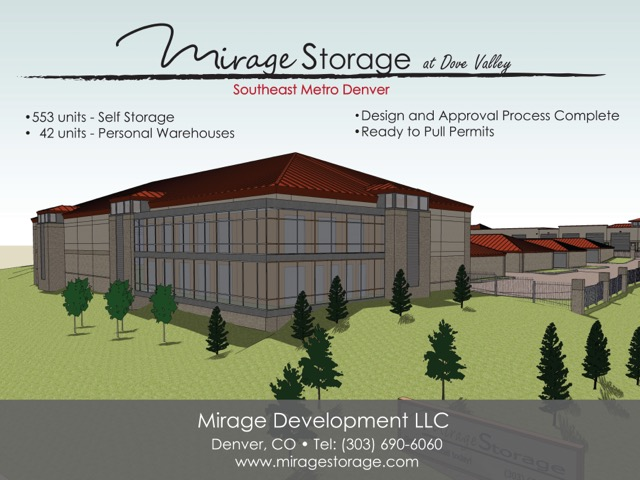 Mirage Storage Poster -- Version II -- Contact Marcy -- (386)-316-3333